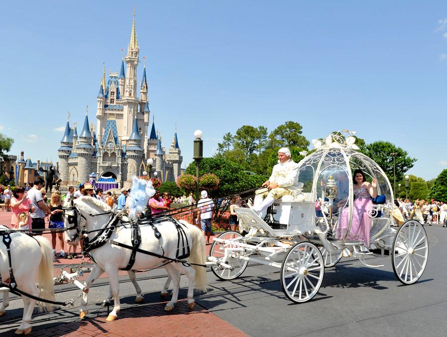 Vous pouvez maintenant vous marier à Disney World (Floride) la nuit et  avoir le parc d\u0027attractions à vous seuls.